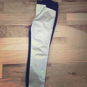 Banana Republic Sz 6 Two Tone Sloan Pants